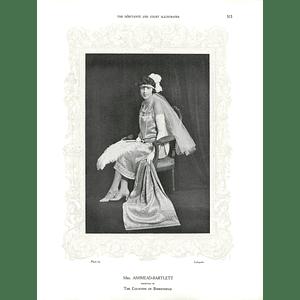 1925 Mrs Ashmead-Bartlett & Miss Constance Dawes