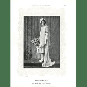 1925 Miss Beryl Fernandes & Mrs Bertram Cartland