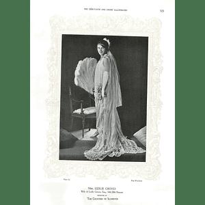 1925 Mrs Leslie Groves & Mrs Maurice H Bates