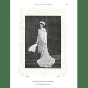 1925 Mrs Phillip Hutchins Knowling & Miss Margaret Abbott
