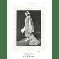 1925 Miss Leslie MacGregor & Mrs Denis Sanders