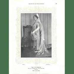 1925 Mrs C H Hoskins & Lady Moss