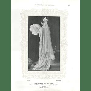 1925 Miss Ina Fairlie-Cuninghame & Mrs John Fraser