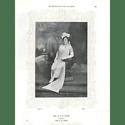 1925 Mrs H S K Ward & Miss Bertha Webb
