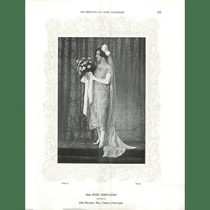 1925 Miss Margaret Fernandes & Miss Muriel, and Mrs Spencer