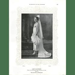 1925 Lady Chatterjee & Miss Margaret Matthews