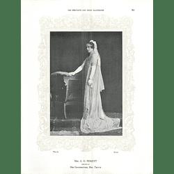 1925 Mrs A H Peskett & Miss Elizabeth Forster Parsons