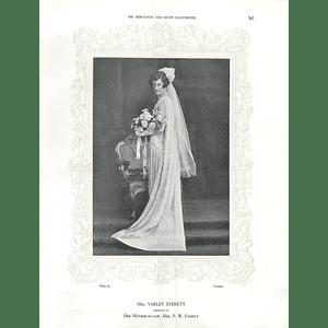 1925 Mrs Varley Everett & Mrs Arthur Rokeby