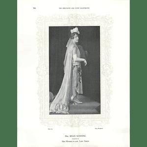 1925 Mrs Jeremiah Colman & Mrs Brian Manning