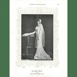 1925 Miss Irene Garratt & Mrs Walter H Frizell