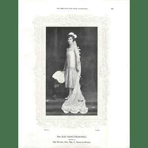 1925 Miss Jean Hamilton-Russell & Mrs C A Kershaw