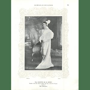1925 Miss Suzette De M Dewey & Mrs R A Angier