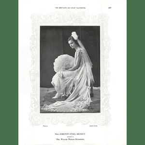 1925 Miss Dorothy Ethel Brumfit & Mrs Cecil Horne