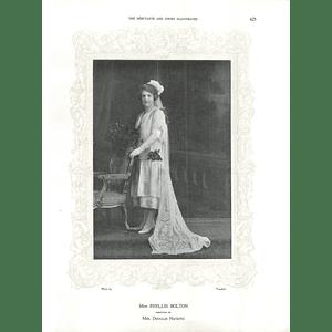 1925 Miss Phyllis Bolton & Mrs Alec Holden