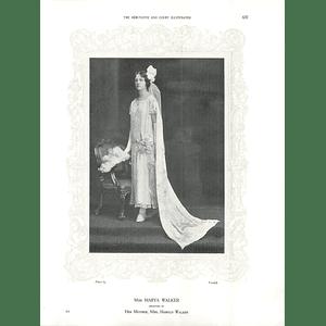 1925 Miss Marya Walker & Mrs Walter Merewether