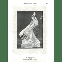 1925 Miss Moir Campbell & Miss Ursula Richards