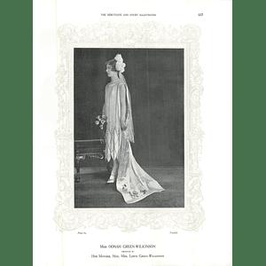 1925 Miss Oonah Green-Wilkinson & Miss Eleanor Freestun