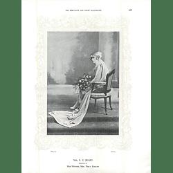 1925 Mrs E C Beard & Miss Venetia Taylor