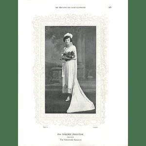 1925 Miss Marjorie Johnstone & Miss Elizabeth J Armes