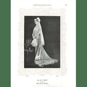1925 Mrs W C Cripps & Miss Nona Wilshire
