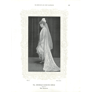 1925 Mrs Archibald Hamilton Rowan & Mrs T Saunders