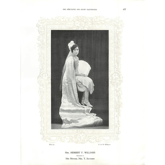 1925 Mrs Herbert F Williams & Miss Sime