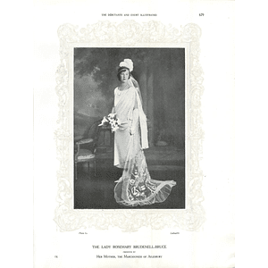 1925 The Lady Rosemary Brudenell-Bruce & Miss Rosalie Evans