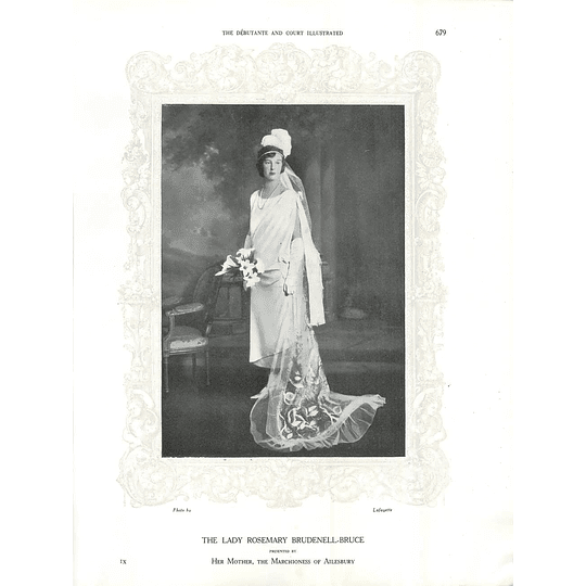 1925 The Lady Rosemary Brudenell-Bruce & Miss Rosalie Evans