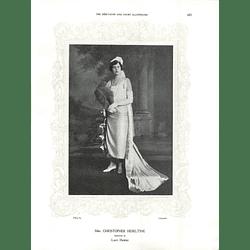 1925 Mrs Christopher Heseltine & Mrs E Tindal Atkinson