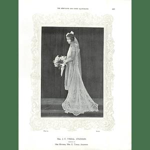 1925 Mrs J F Tindal Atkinson & Mrs R B Turbutt