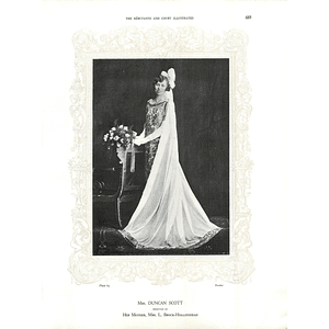 1925 Mrs Duncan Scott & Mrs J E P Howey
