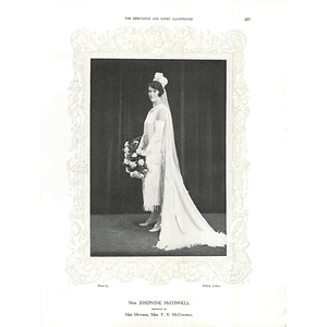 1925 Miss Josephine McConnell & The Countess Bondi