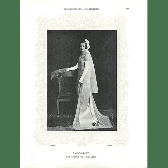 1925 Miss Garratt & Miss Audrey Temperley