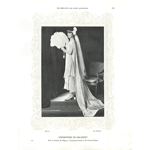 1925 Viscomtesse DU Halgouet & The Marchioness of Headfort