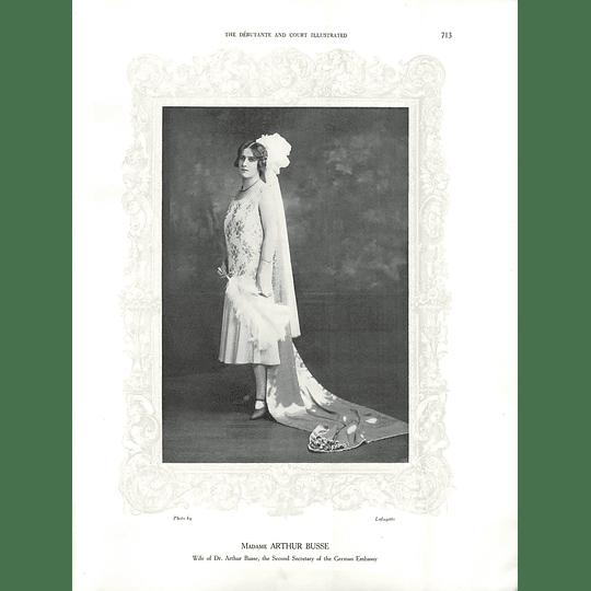 1925 Madame Arthur Busse & Miss Connel Ogilvie Mathieson