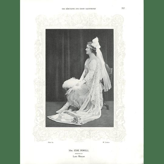 1925 Mrs Eyre Powell & Miss Ailsa Cullen