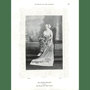1925 Mrs Burton Phillips & Madame Hersleb Birkeland
