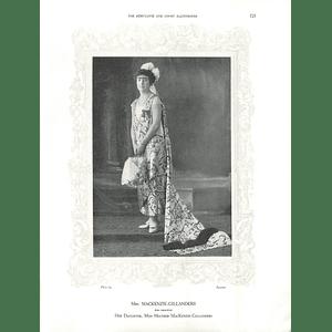 1925 Mrs MacKenzie-Gillanders & Miss Margaret C Godley
