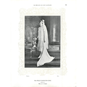 1925 Miss Peggy Essington King & Miss Aileen McInerney