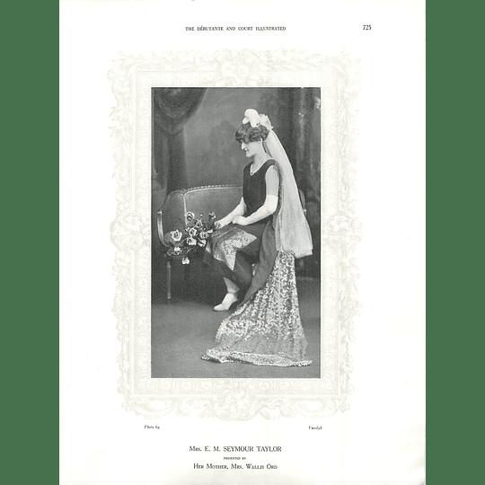 1925 Mrs E M Seymour Taylor & Mrs Robert Hanmer