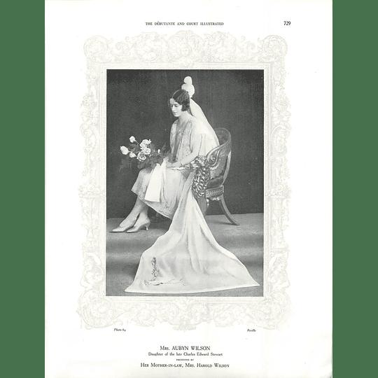 1925 Mrs Aubyn Wilson & Miss Nancy Airey
