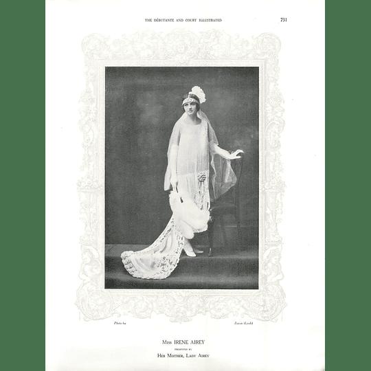 1925 Miss Irene Airey & Mdlle Vogt