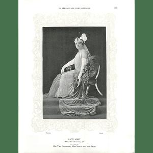 1925 Lady Airey & Miss Eileen Sadler