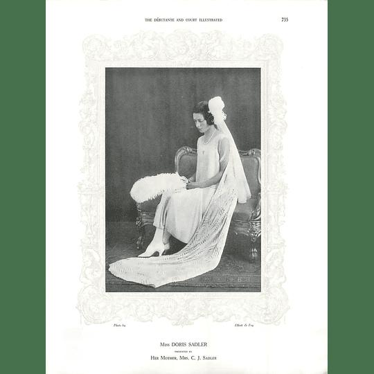 1925 Miss Doris Sadler & Miss Ruthfi Pharazyn