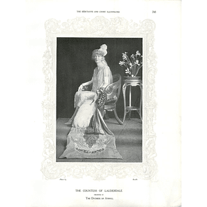 1925 The Countess of Lauderdale & Mrs Cass Gilbert