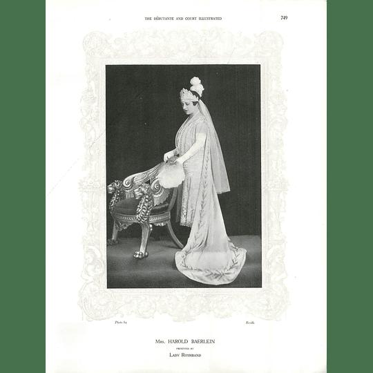 1925 Mrs Harold Baerlein & Mrs B J Gould