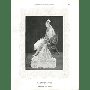 1925 Miss Dorothy Sanders & Mrs Watson Smyth