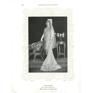 1925 Miss Barbara Incledon-Webber & Lady Watson