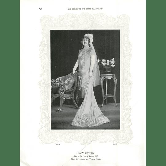 1925 Miss Barbara Incledon-Webber & Lady Watson