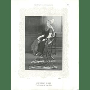1925 Lady (of Bury) Hewart & Lady MacLeay